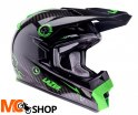 Kask crossowy MX8 Pure Carbon Zielony