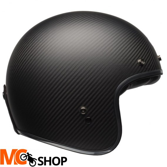 BELL CUSTOM 500 CARBON BLACK MATT KASK OTWARTY