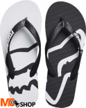 JAPONKI FOX LADY BEACHED FLIP FLOPS BLACK/WHITE