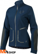 KURTKA ROWEROWA FOX LADY ATTACK FIRE SOFTSHELL NAVY