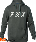 FOX DISTRICT 1 DARK GREEN Bluza z kapturem
