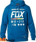 FOX DISTRICT 2 DUST BLUE Bluza z kapturem