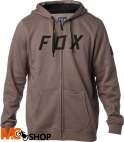 FOX DISTRICT 2 GREY Bluza z kapturem na zamek