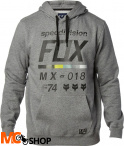 FOX DISTRICT 2 HEATHER GRAPHITE Bluza z kapturem