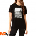 FOX LADY PICOGRAM BLACK T-SHIRT