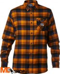 FOX ROVAR FLANNEL ORANGE Koszula