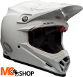 BELL MOTO-9 FLEX SOLID WHITE Kask Off-road