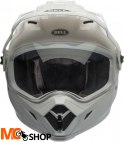 BELL MX-9 ADVENTURE MIPS SOLID WHITE Kask duale