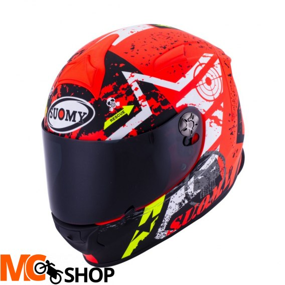 Kask SUOMY SR SPORT STARS ORANGE integralny