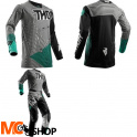 THOR BLUZA OFFROAD YOUTH PULSE GEOTEC BLACK/TEAL=$