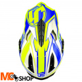 KASK JUST1 J12 FLAME YELLOW-BLUE