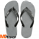 JAPONKI FOX LADY FLIP FLOP BLACK/WHITE