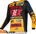 FOX BLUZA OFF-ROAD JUNIOR 180 CZAR BLACK/YELLOW