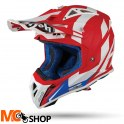 AIROH KASK OFF-ROAD AVIAT 2.3 AMSS BIGGER RED MATT