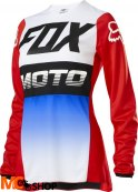 FOX BLUZA OFF-ROAD LADY 180 FYCE BLUE/RED