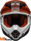 BELL KASK OFF-ROAD MOTO-9 PROPHECY MATT WH/RED/BLA