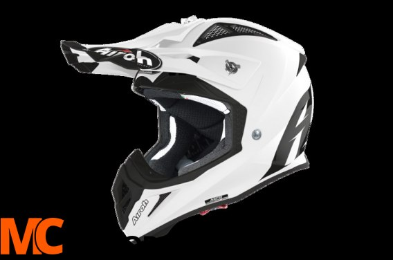 AIROH KASK OFF-ROAD AVIATOR ACE COLOR WHITE GLOSS