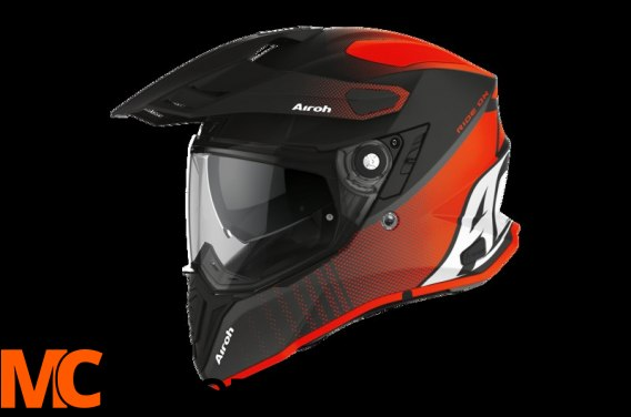 AIROH KASK INTEGRALNY COMMANDER PROGRESS ORANGE MA