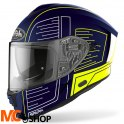 AIROH KASK INTEGRALNY SPARK CYRCUIT BLUE GLOSS