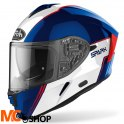 AIROH KASK INTEGRALNY SPARK FLOW BLUE/RED GLOSS