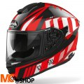 AIROH KASK INTEGRALNY ST501 BLADE RED GLOSS
