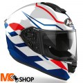 AIROH KASK INTEGRALNY ST501 FROST BLUE/RED GLOSS