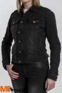 BROGER KURTKA MOTO JEANS FLORIDA LADY WASHED BLACK