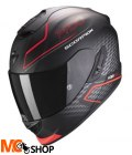 SCORPION KASK INTEGRALNY EXO-1400 GALAXY NEON- RED