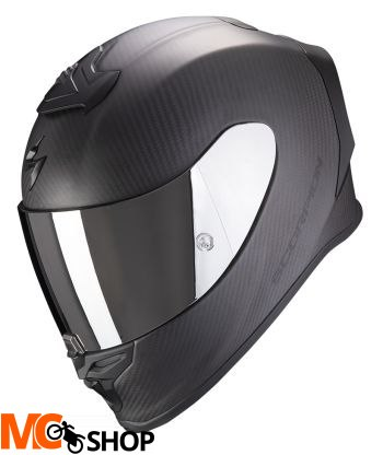 SCORPION KASK INTEGRALNY EXO-R1 CARBON SOLID M BK