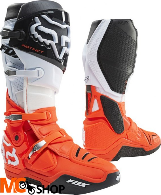 FOX BUTY OFF-ROAD INSTINCT BLACK/WHITE/ORANGE